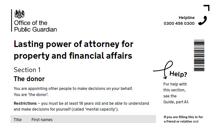 Lasting Power Of Attorney Fee Exemption  OliverS Wills Ltd
